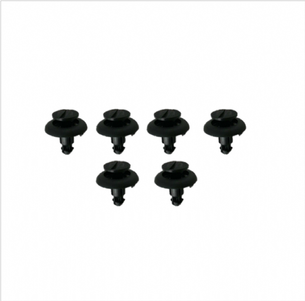 Genuine Toyota Rav4 Battery Cover Clips Qty: 6 90467-07195, 9046707195